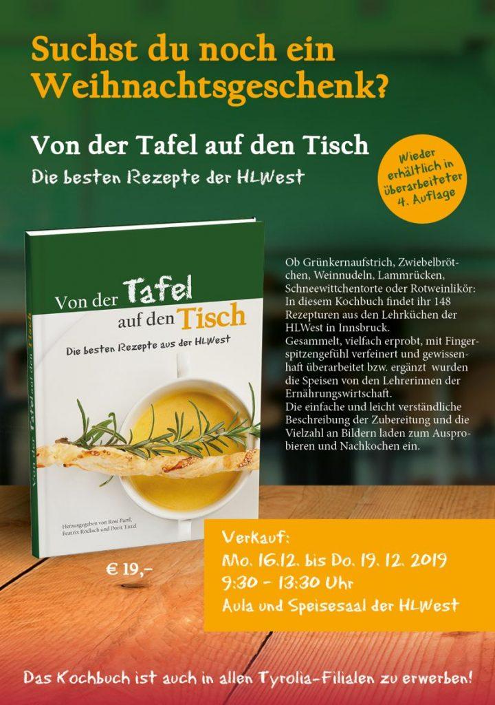 Kochbuch HLWest